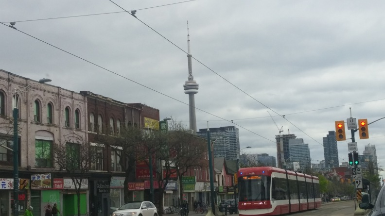 CNC TOWER AND THE TRANVIA