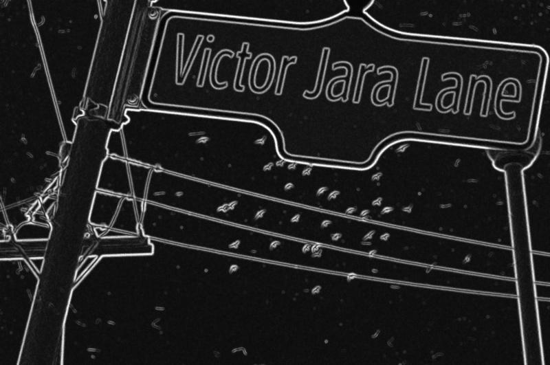 Victor Jara Lane BW