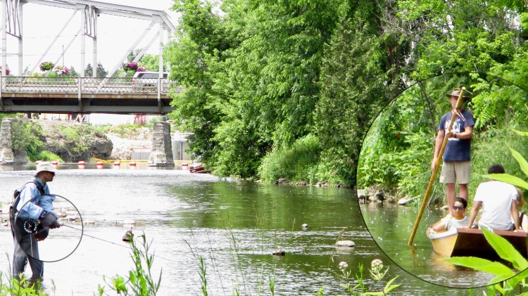 Elora Raft Rides & the Fishman