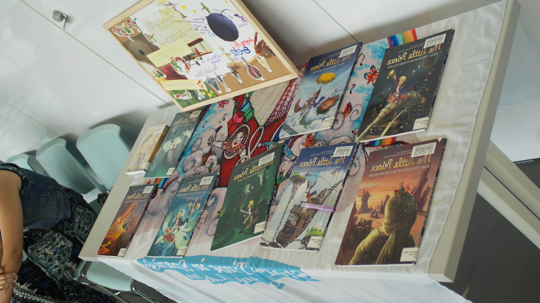 Colección de Libros, películas relacionadas con El Principito.