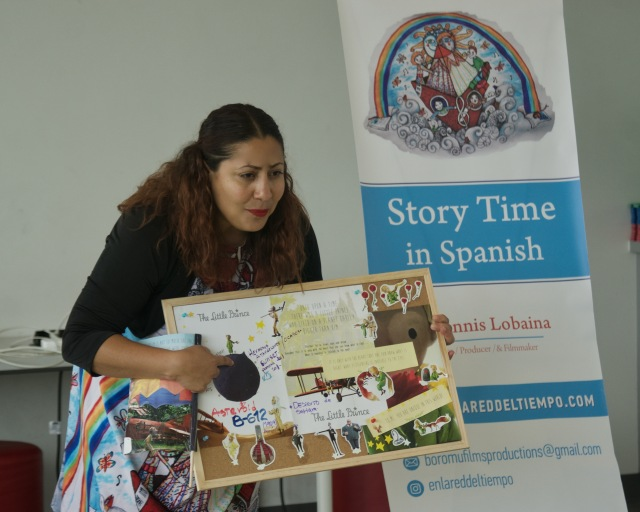 Celebrating Toronto's Spanish-speaking community through stories, songs, and collages!