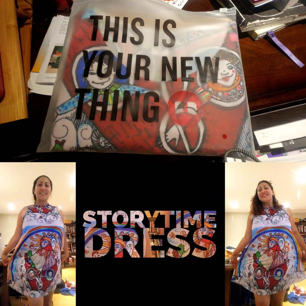STORYTIME DRESS DISEÑO BY AREMA AREGA