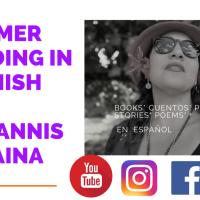 Lecturas de verano en español. Para toda la familia en la voz de Yannis Lobaina.